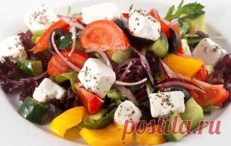 7 вкусных салатов без майонеза!
