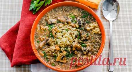 К Посту готовы!Рецепты супов
