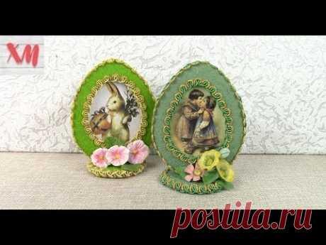 Пасхальные СУВЕНИРЫ из ПОДРУЧНОГО материала/ Easter souvenirs DIY. ХоббиМаркет