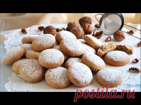 Песочное ореховое печенье 🌟 Как приготовить вкусное песочное печенье из грецких орехов 🌟 - YouTube