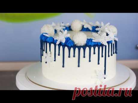 """Рецепт торта """"Нежный персик"""". Как собрать и украсить вкусный торт. Рецепт крем для торта и бисквит."""