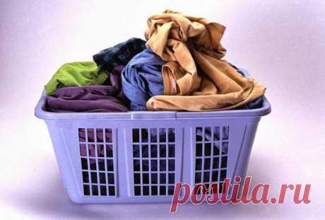 Как отстирать старые пятна на одежде