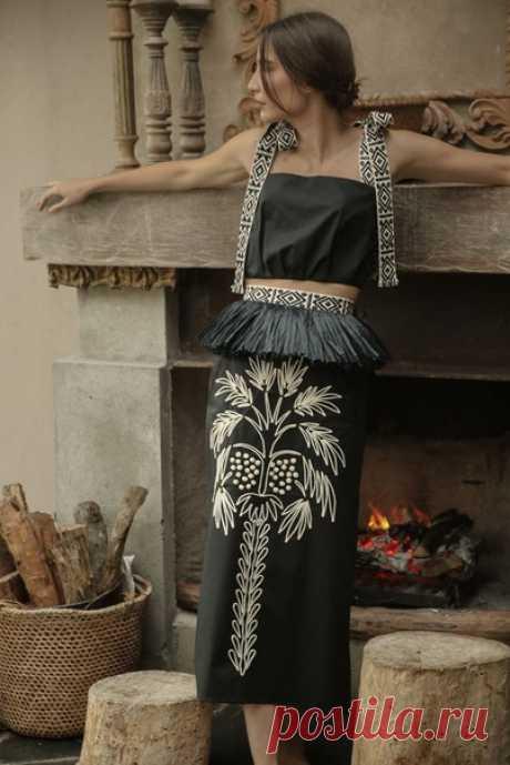 #одежда_стиль Johanna Ortiz Resort 2021 Fashion Show