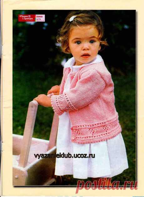 Кофта - Для детей до 3 лет - Каталог файлов - Вязание для детей