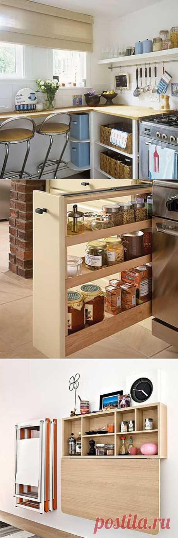 Маленькая кухня и большое пространство для фантазий. Пост для тех, кто постоянно в поиске лучшего.