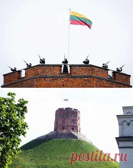 Запрещенные КПСС фотографии выхода Литвы из СССР