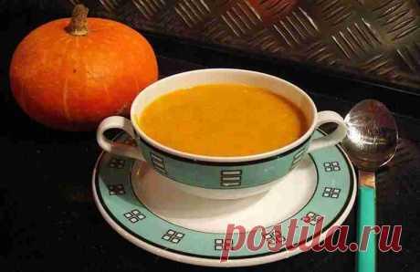 Самый вкусный диетический тыквенный суп-пюре