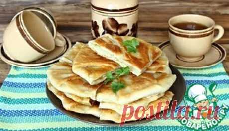 Плацинды с картошкой - кулинарный рецепт