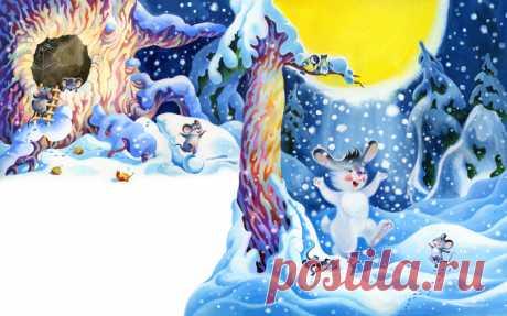Иллюстрация Белый кожушок 9. Просмотреть иллюстрацию Белый кожушок 9 из сообщества русскоязычных художников автора Владимир Аникин в стилях: Книжная графика, нарисованная техниками: Гуашь.