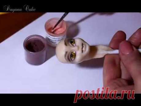 Создание прекрасной нимфы из мастики (скульптурная лепка)