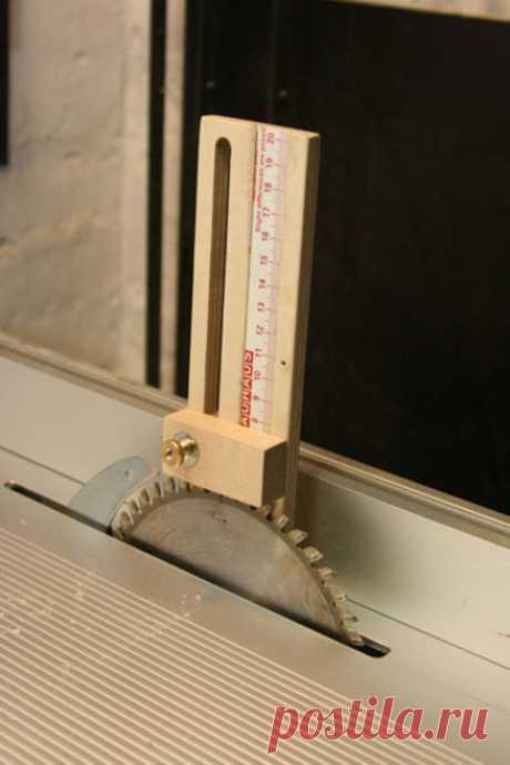 Height-, length gauge (DIY) - by mafe @ LumberJocks.com ~ woodworking community