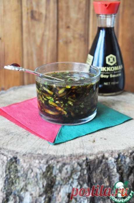 La salsa china de los pepinos - la receta de cocina