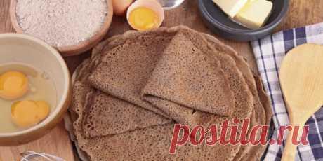 Гречневые блинчики — Sloosh – кулинарные рецепты
