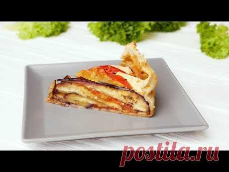 Пирог из баклажанов - Рецепты от Со Вкусом