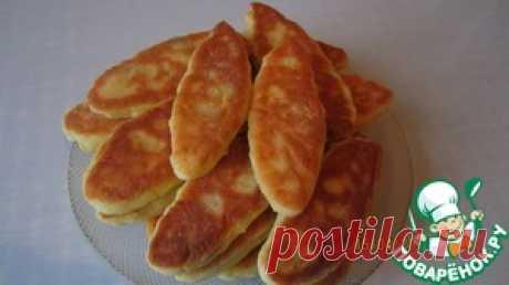 Пирожки из творожного теста с курицей - кулинарный рецепт