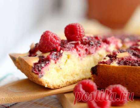 Пирог с малиной - рецепт приготовления с фото от Maggi.ru