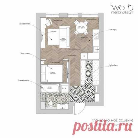 Нежная красота: стильный проект апартаментов площадью 41 м² для молодой творческой девушки | Architect Guide | Яндекс Дзен