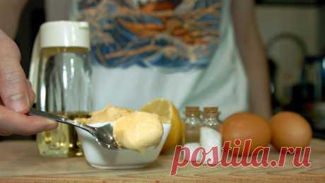 Домашний майонез — Кулинарная книга