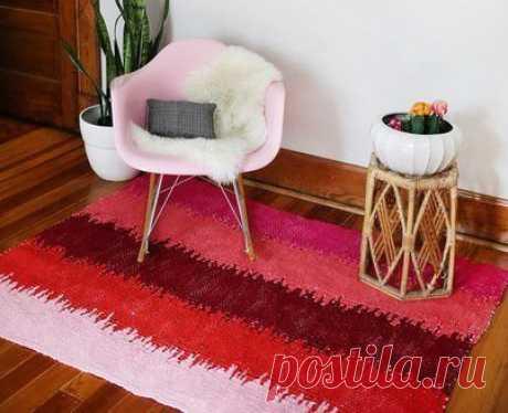 Плетём коврик — DIYIdeas