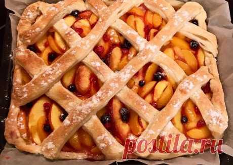 (8) Слоенный пирог с фруктами - пошаговый рецепт с фото. Автор рецепта Александра Марро . - Cookpad