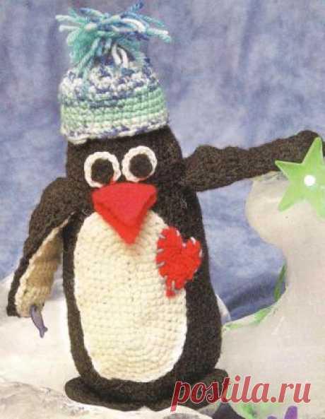(+2) Пингвины на северном полюсе (вязание крючком)