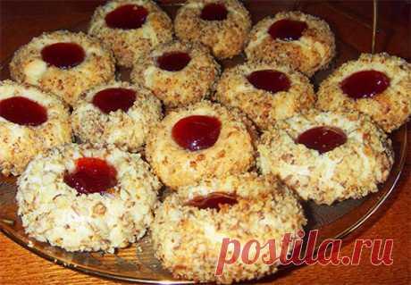 Печенье с джемом ⋆ Хозяюшка