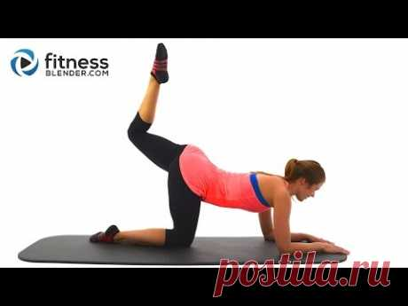 Leg Slimming Pilates Butt and Thigh Workout to Lift Glutes & Tone Thighs