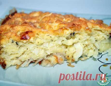 Быстрый капустный пирог – кулинарный рецепт