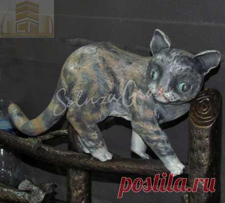 кошка из металла