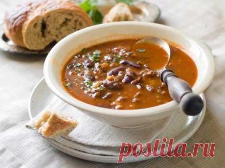 Как приготовить венгерский суп боб-гуляш - рецепт, ингредиенты и фотографии