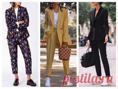 Укороченные брюки - фото с чем носить и обзор моделей