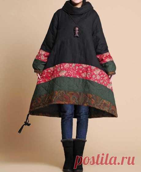 Women Winter coat loose fitting padded coat Winter padded   Etsy