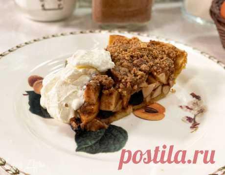 Скандинавский пирог с яблоками, изюмом и грецкими орехами – сайт рецептов Юлии Высоцкой
