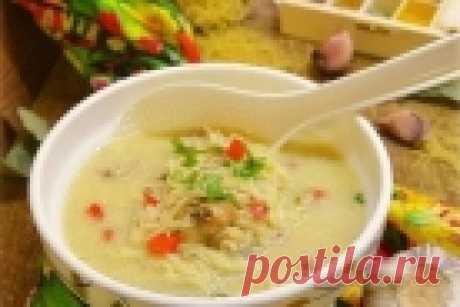 Супы с курицей