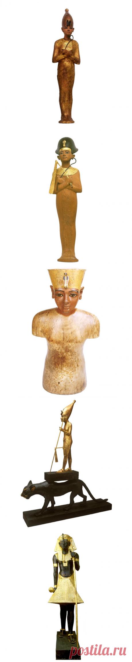 26 вещей из сокровищницы в гробнице фараона Тутанхамона, которые удивили ученых (Часть 2)