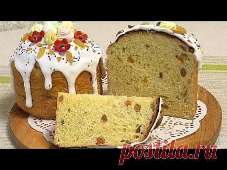 Домашние ПАСКИ, влажное-волокнистое тесто/Easter baking