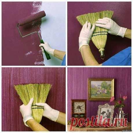 Wall decor... broom!