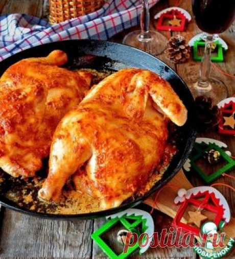 Chicken in an oven home-style - the culinary recipe