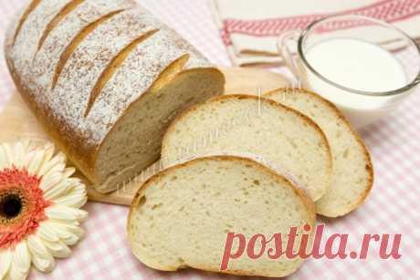 Белый хлеб «Быстрый» — рецепт с фото пошагово