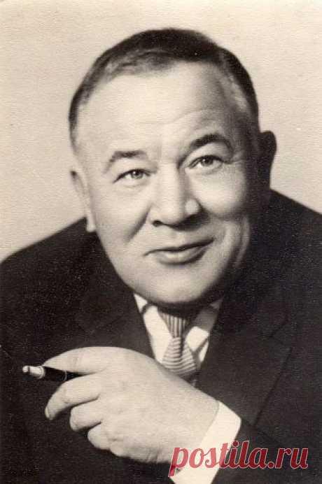 Народный артист СССР актер театра и кино Андреев Борис Фёдорович  09.02.1915 - 24.04.1982