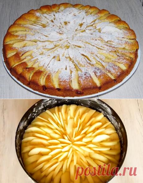 Яблочный пирог который тает во рту. Все гости просят рецепт