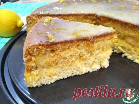 Торт Лимончелло Кулинарный рецепт