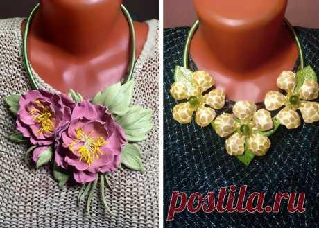 Виктория Пядышева - рукодельник от бога. Полюбуйтесь на её цветы из кожи. Кстати, этому можно научиться   Подушкины секреты   Яндекс Дзен
