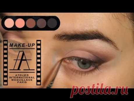 Видео: макияж для голубых глаз