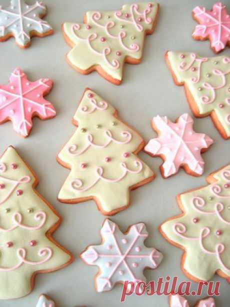 Рождественское печенье с помадкой » Жрать.ру