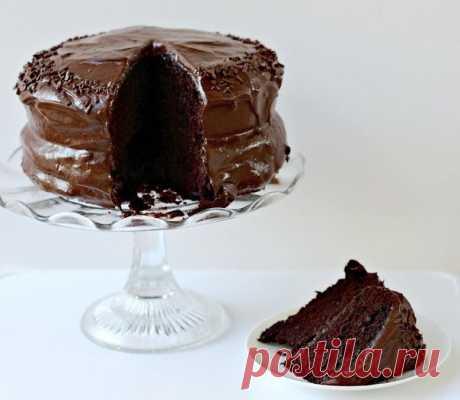 Шоколаднейший из всех тортов!