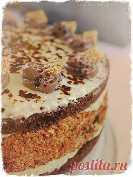 "Безумно вкусный торт ""Халва""."