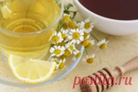 Ромашка и лимон - килограммы ВОН!