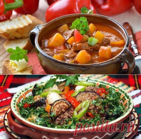 Овощное рагу с мясом - рецепты с картошкой, кабачками, баклажанами, в мультиварке и в духовке