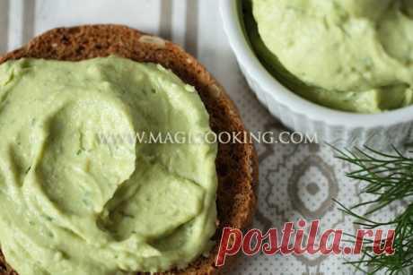 Паста бутербродная из авокадо | Magicooking